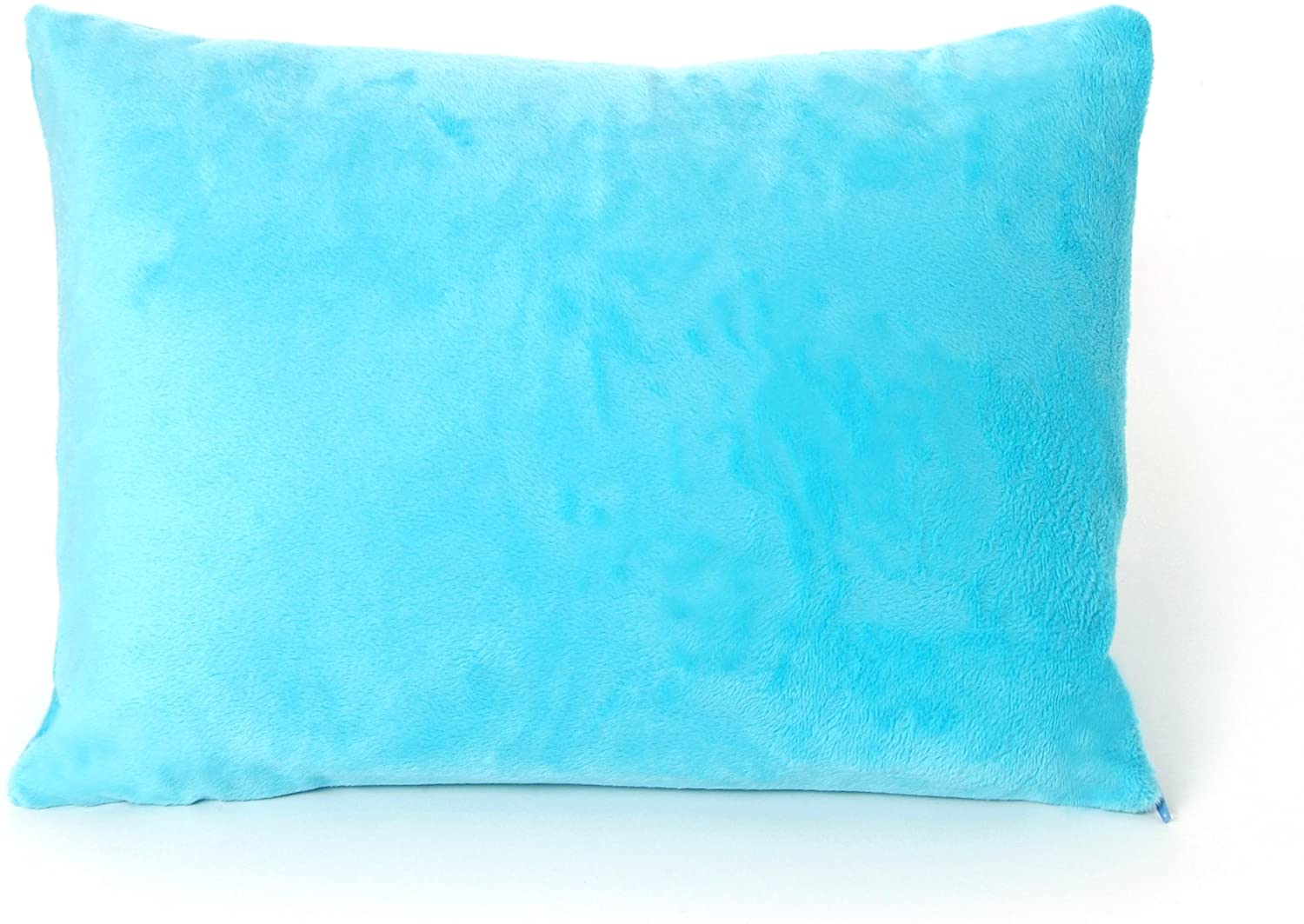 My First Premium Memory Foam Kids Toddler Pillow with Pillowcase, Blue, 12
