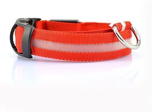 LED Dog Collar Luminous Light-Emitting pet Belt 12210-XL