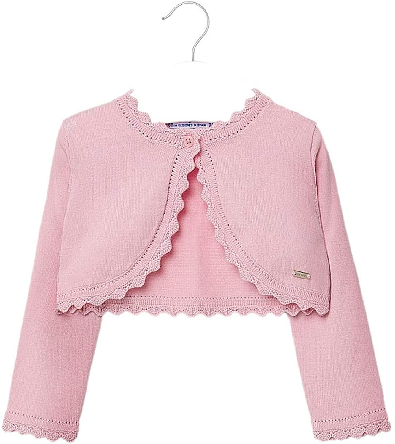 Mayoral - Basic Knitted Cardigan for Baby-Girls - 0308, Rose