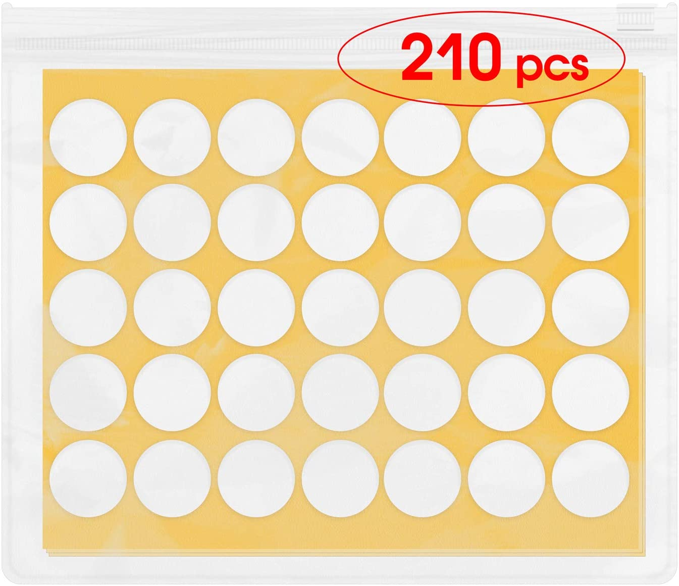 Candle Wick Stickers - LELETVN Candle Making Supplies CWS019210 - High Temperature Resistant - Strong Tensile Force - Tear Off Without Mark- 210 pcs