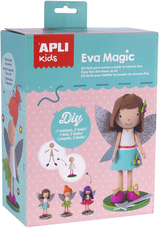 APLI Apli14821 Fairy Foam Doll Craft Kit