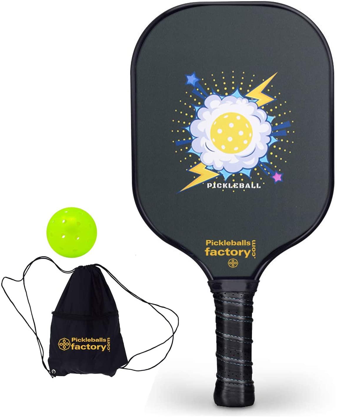 Pickleball Paddle, Pickleball Paddles, Pickleballs, Pickleball Paddles Graphite, Pickleball Rackets, Cloud, Pickleball Racket, Usapa Approved Pickleball Paddles and Balls Pickle Ball Net Bag