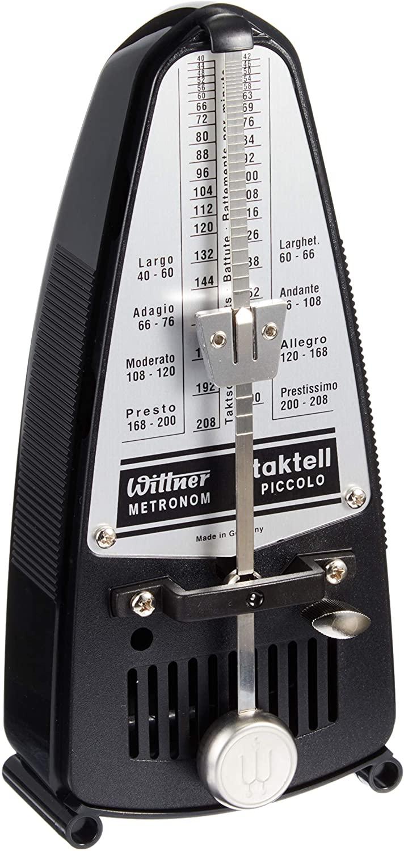 Wittner 836 Taktell Piccolo Metronome, Black