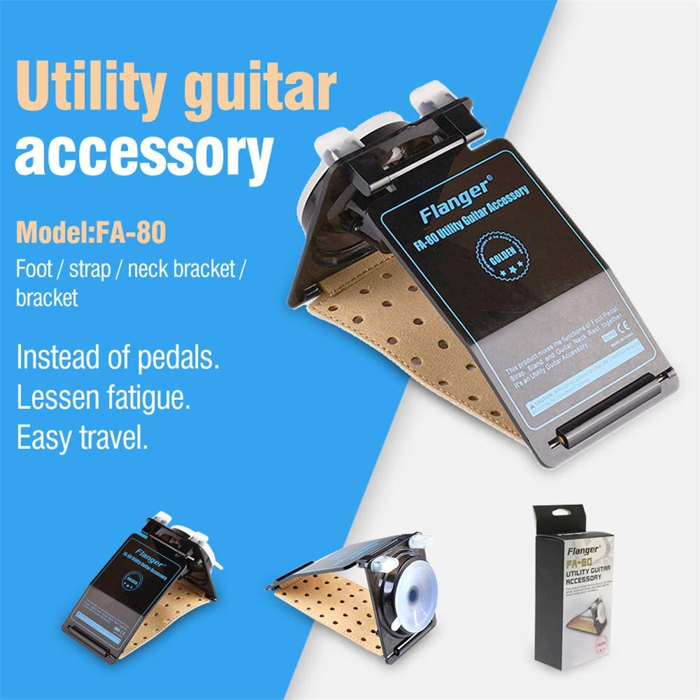 XuBa FA-80 Guitar Neck Rest Stand Electric Acoustic Guitar Bass Holder Luthier Setup Tool Practical Display Mount
