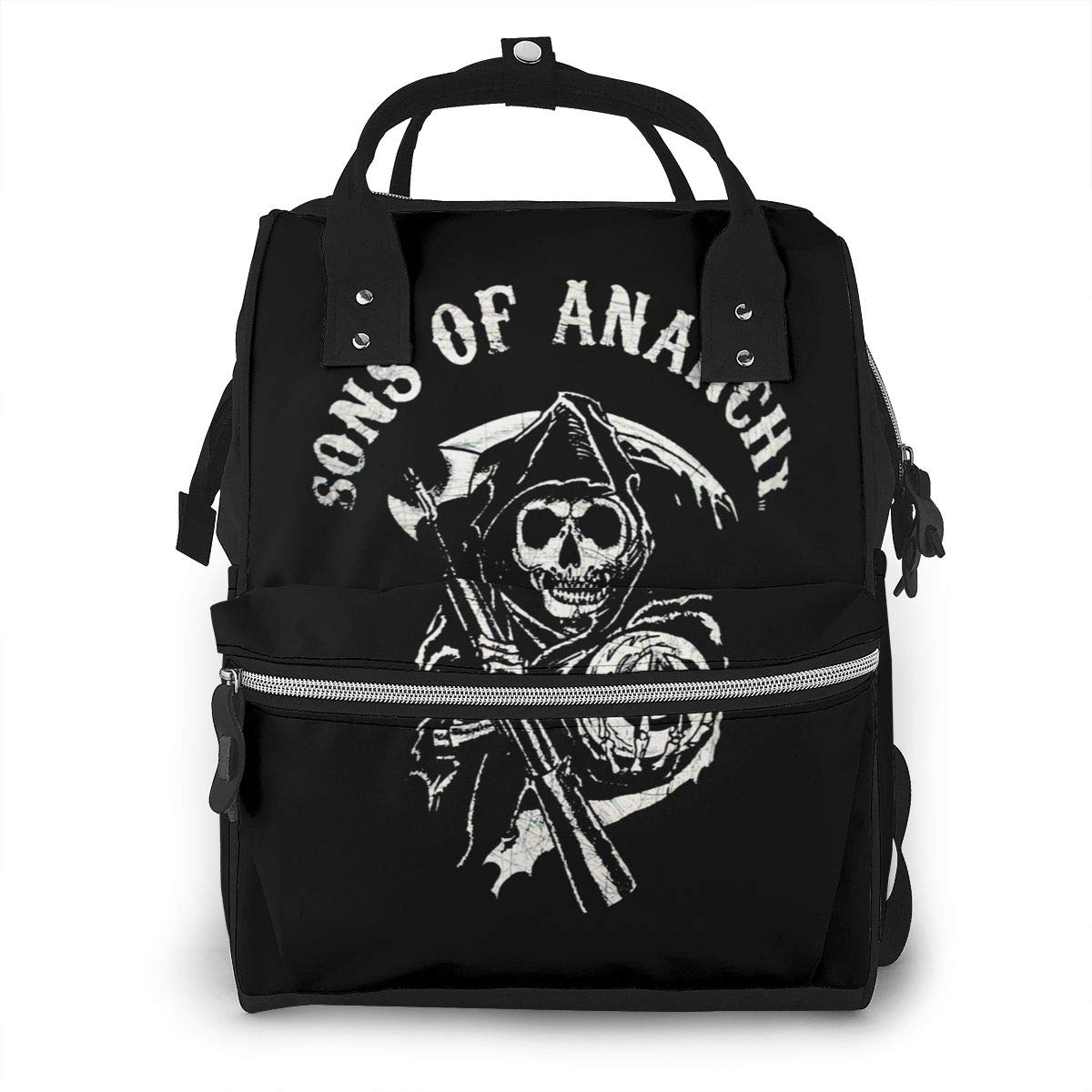 Sons of Anarchy Fashion Mummy Backpack Shoulder Bag Portable