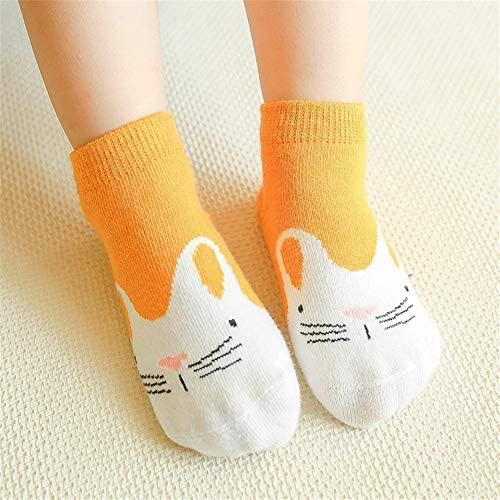 3Pairs/lot Cartoon Rabbit Baby Socks Newborn Cute Breathable Cotton Boys Girls Sock Non-Slip Toddler Socks