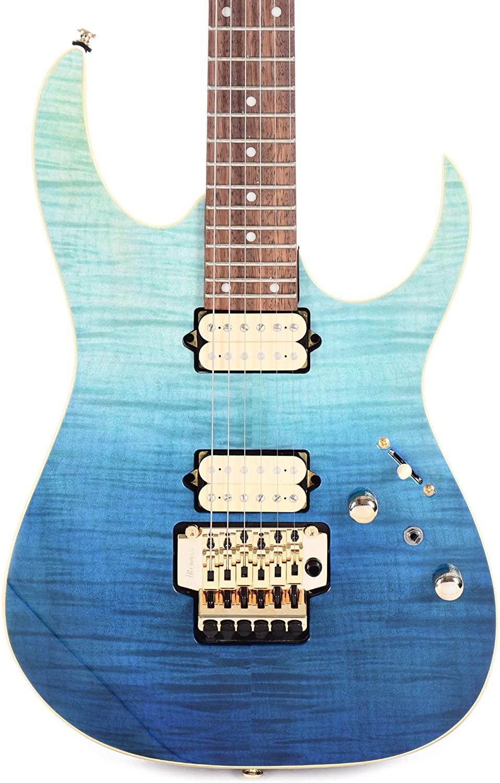 Ibanez RG420HPFM Electric Guitar (Blue Reef Gradation)