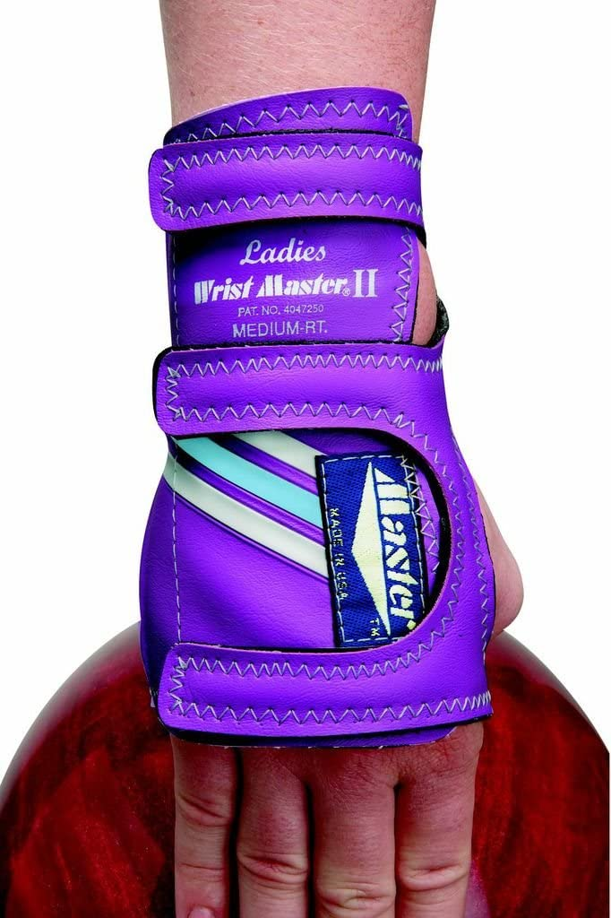 Master Industries Women's Wristmaster Bowling Gloves, Medium, Right Hand (Colors may Vary)