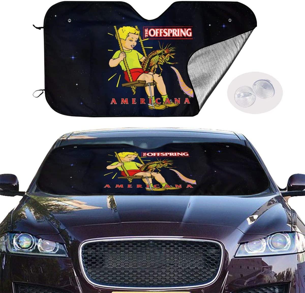 Abkola The Offspring Universal and Stylish Car Windshield Visor