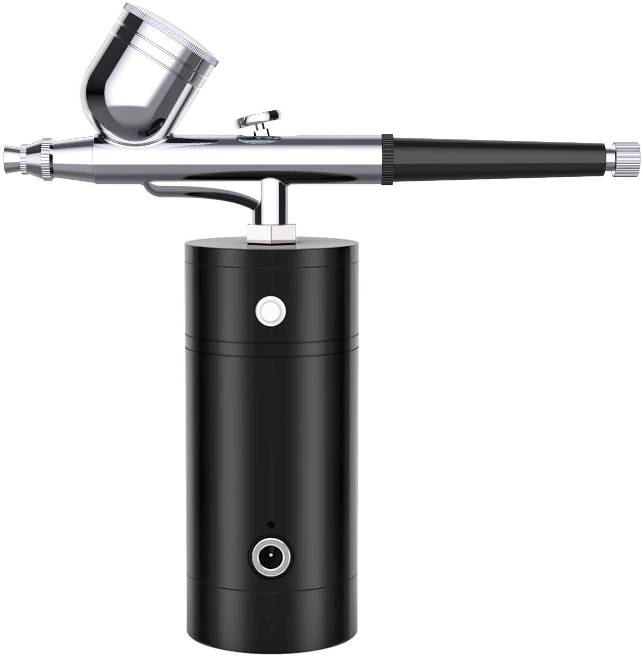 YLINGSU Airbrush Kit, Rechargeable Handheld Mini Air Compressor Airbrush Set, Portable Cordless Airbrush Gun with Low Noise for Makeup, Tattoo, Nail Art, Face Paint, Cake Decor