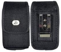 FIT WITH LIFEPROOF on it Heavy Duty Vertical Rugged Canvas Belt Clip Case For ATT ZTE Z998