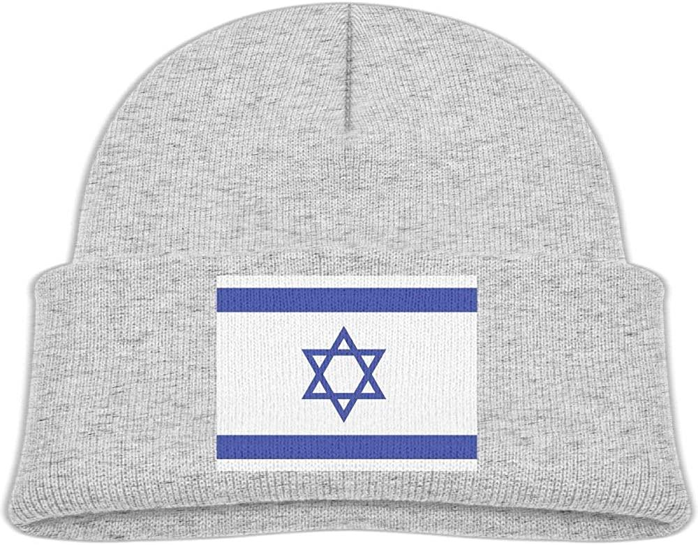 lead-do Baby Boys Girls Israeli Flag Kint Beanie Hats Toddler & Kids Winter Warm Kinted Caps(2-6T)