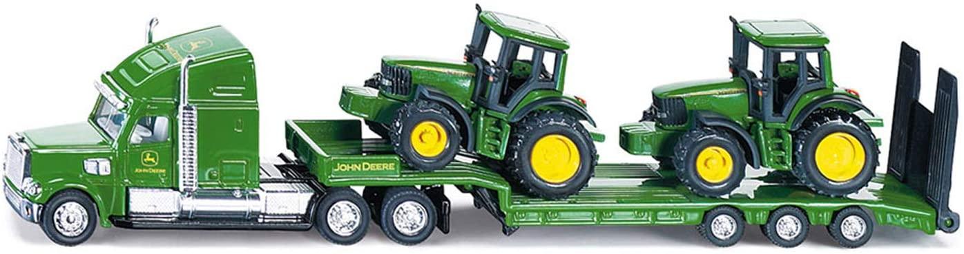 Loader + John Deere Tractors Siku