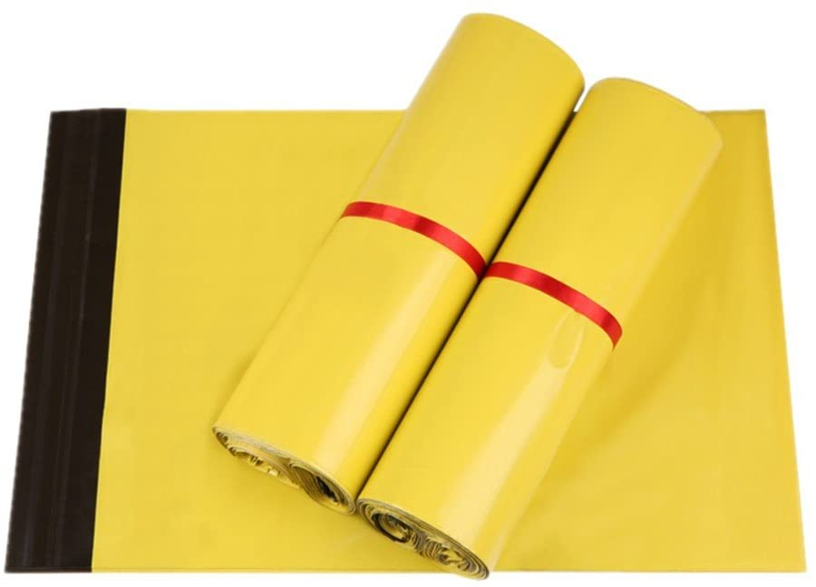 500 10x13 ( Yellow ) Color Poly Mailers Shipping Boutique Bags