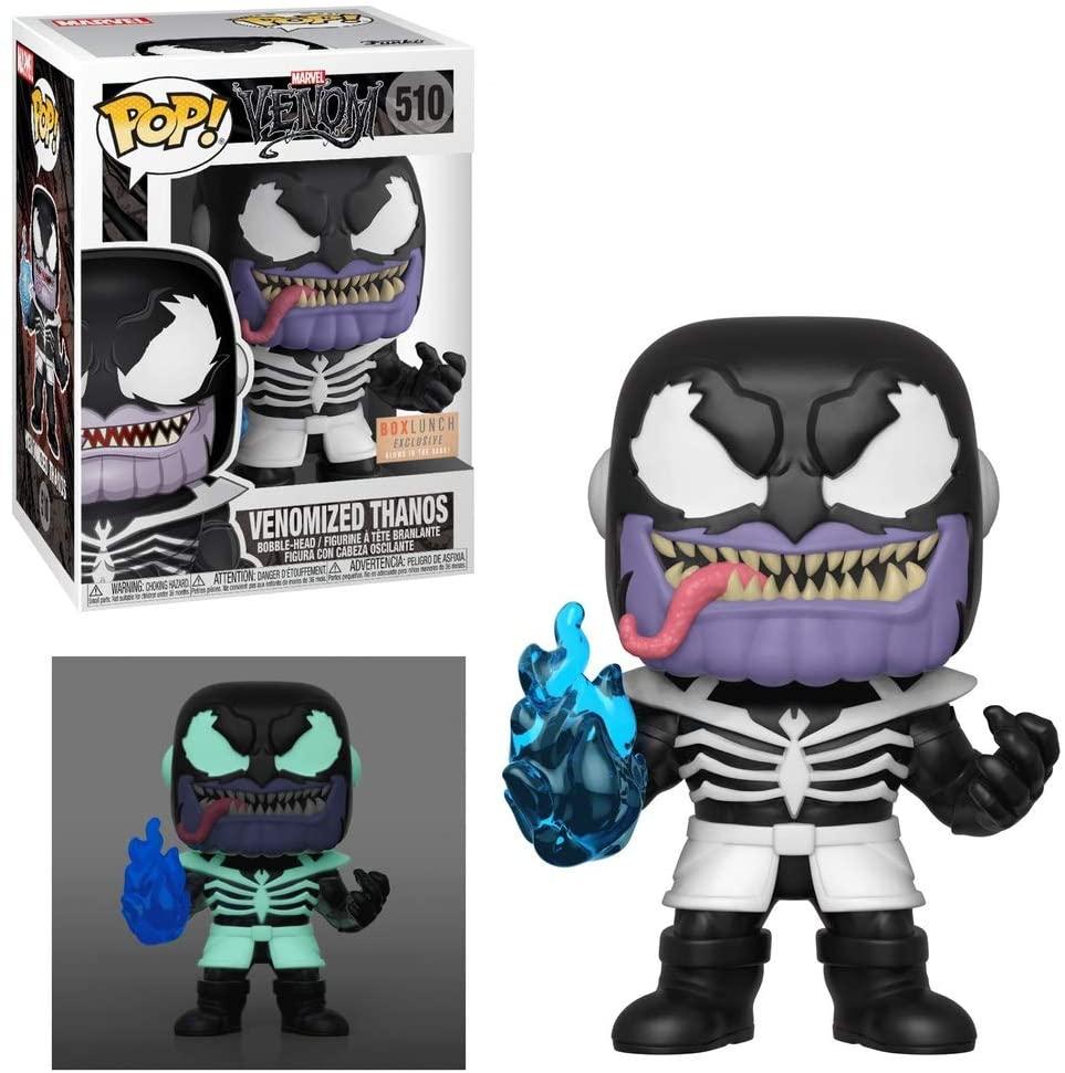 Funko Pop! Marvel Venom - Venomized Thanos Glows in The Dark Exclusive Vinyl Figure #510