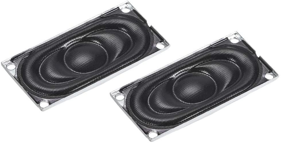 uxcell 2W 4 Ohm Audio Speaker 4020 mm(LW) Loudspeaker for Electronic Project 2pcs