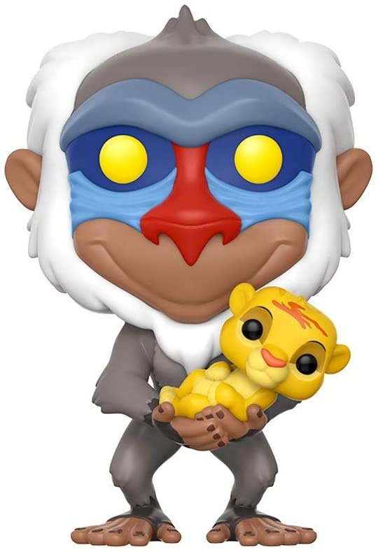 Funko Pop Disney Lion King-Rafiki with Simba Toy