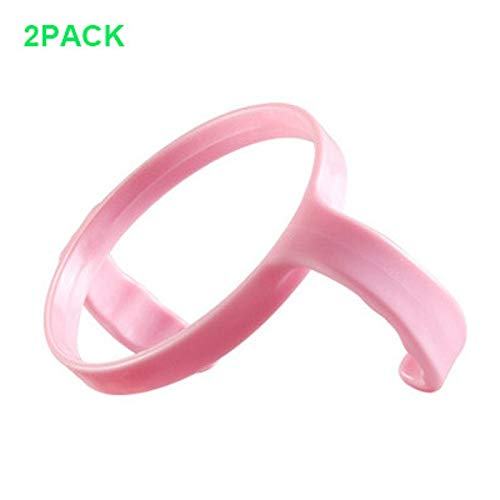 Compatible Bottle Handle for Comotomo, (Pack of 2) (Pink)
