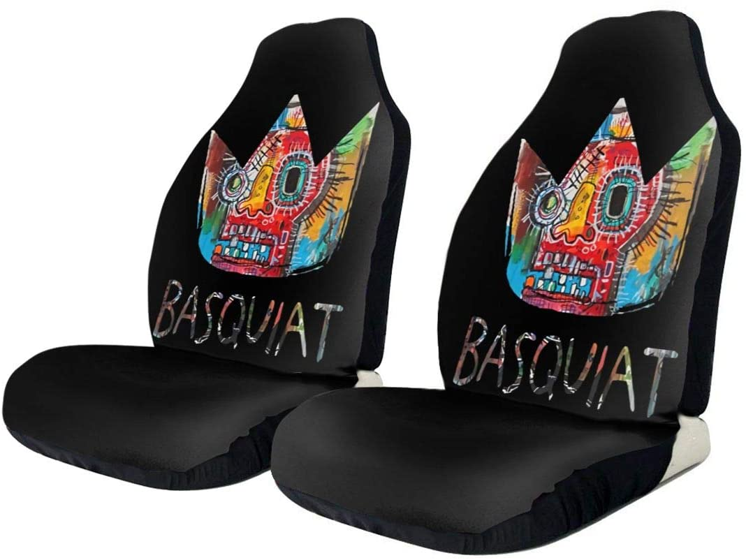 Hhill Swater Basquiat Stylish and Comfortable Car Seat Cover, Flat-Type Universal Car Seat Cover