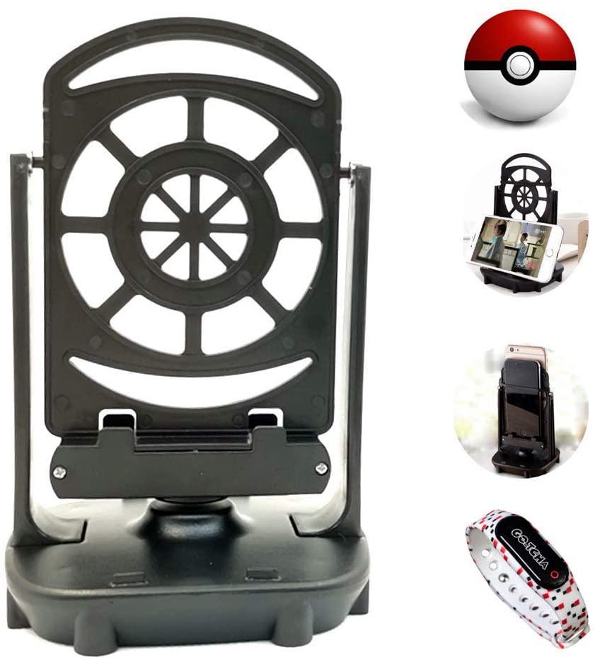 Steps Counter Compatible with Poke Ball Plus, Pokemon Go, Pokemon go Pedometer, Smart Watch, Two Phone Shaker, Gotcha 2,Phone Swing, Pokemon Brush, Automatic Egg Hatcher Earn Steps by USB Charging