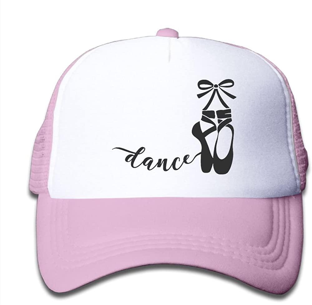 Alin-Z Ballet Dancer Shoes Mesh Hats Trucker Hats Adjustable Baseball Cap for Boys Girls