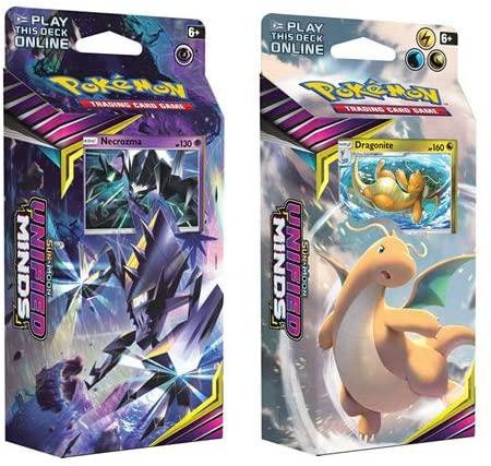 Pokémon 170-81575 Pokemon-Sun & Moon 11: Unified Minds-Theme Display Box of 8 Decks