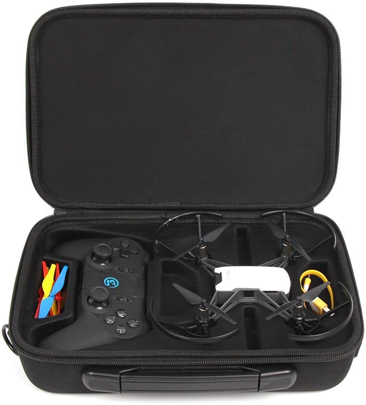 Anbee Tello Carrying Case Portable Shoulder Bag for DJI Tello / Tello EDU Drone and Gamesir T1D Gamepad Remote Controller