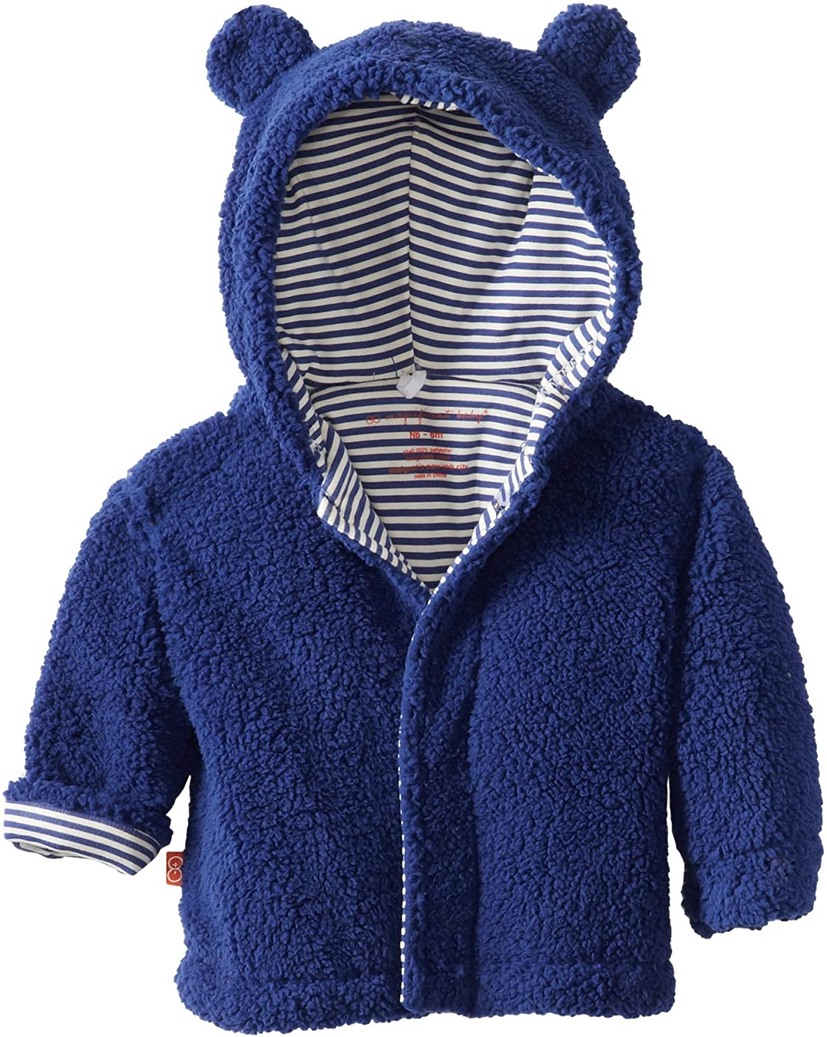 Magnificent Baby Boys Infant Hooded Bear Jacket