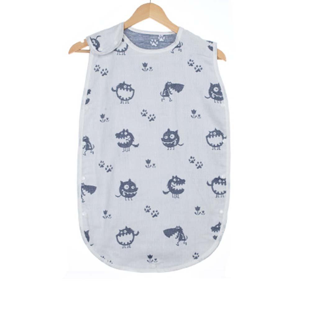 4 Seasons Baby Sleep Bag,Black Wolf L