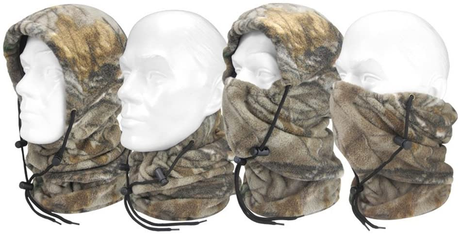 HOT SHOT Men's Challenger Neck Gaiters, Realtree Xtra, One Size