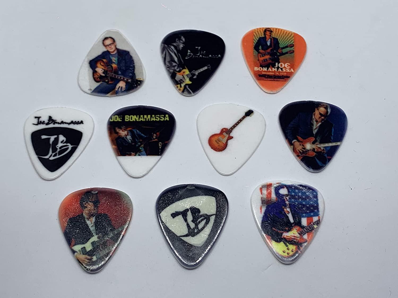 JOE BONAMASSA Guitar Picks Set (10 picks/10 diferent designs)