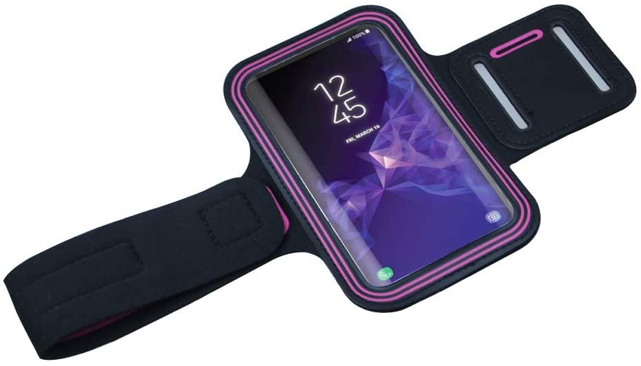 Adjustable Water Resistant Workout Armband for iPhone 11, 11 Pro, Xr, Xs, X