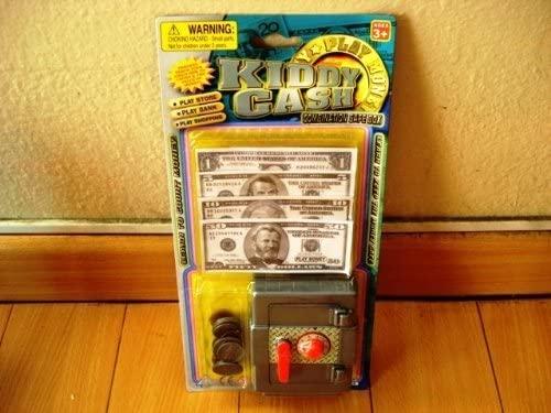 Kiddy Cash Combination Safe Box