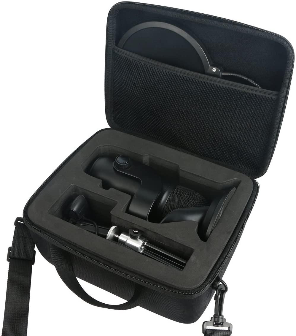 khanka Carrying Bag for Blue Yeti USB Microphone