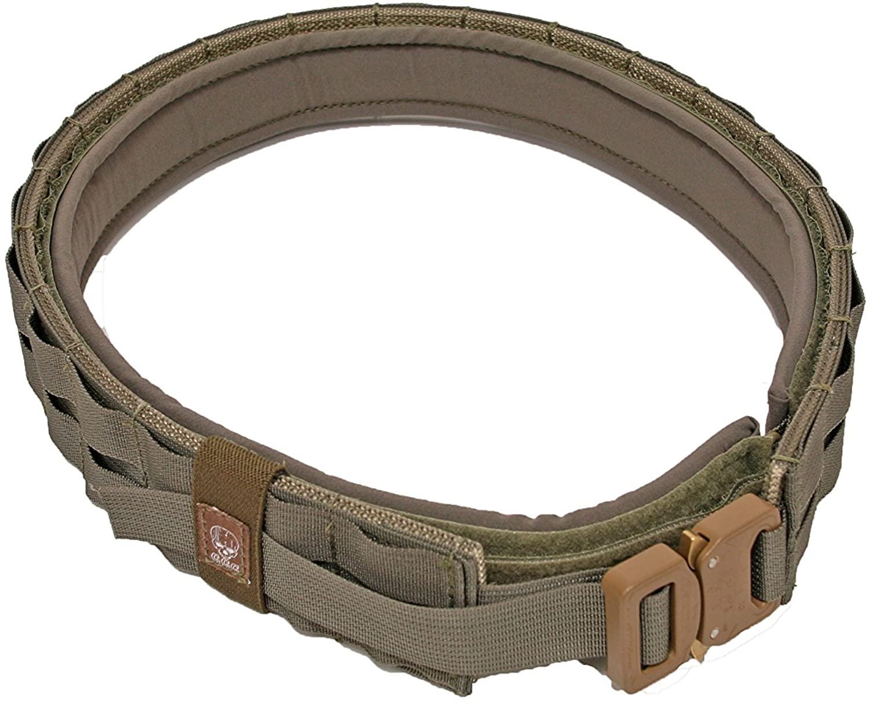 Grey Ghost Gear UGF Battle Belt with Padded Inner, Ranger Green, XX-Large