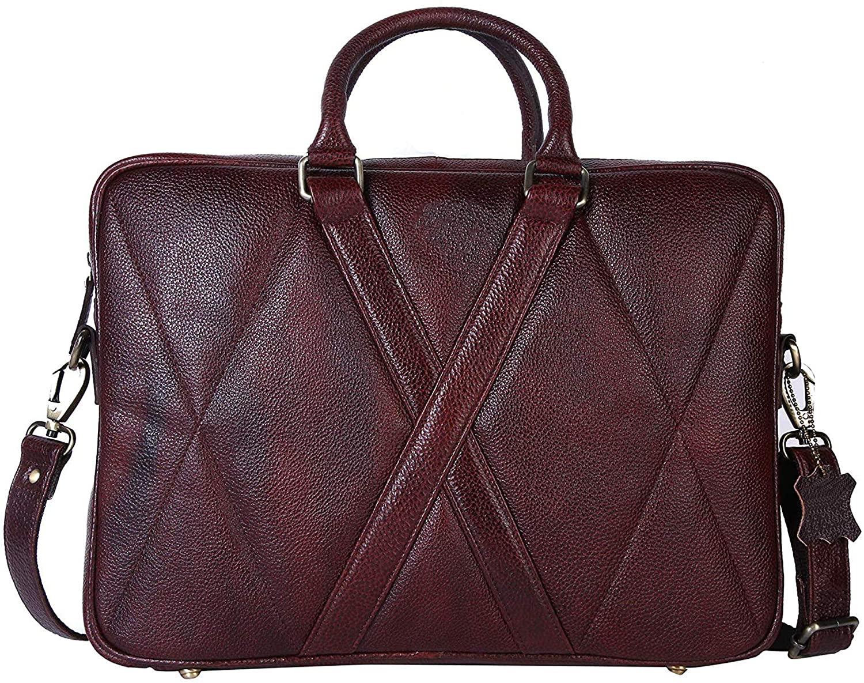 Terre Brown Lucida Genuine Leather Messanger Bag