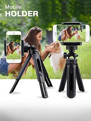 Three-Legged Mobile Phone Stand+Remote Shutter Release