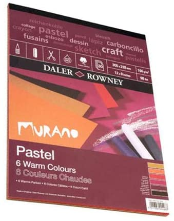 Daler-Rowney Murano Pastel Pad Warm 12x9 inches 438033209 [Office Product]