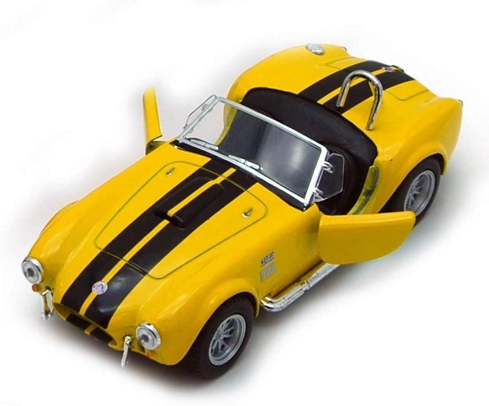 KiNSMART 1965 Shelby Cobra 427 S/C 1:32 Blue (New, NO Box) (Yellow)