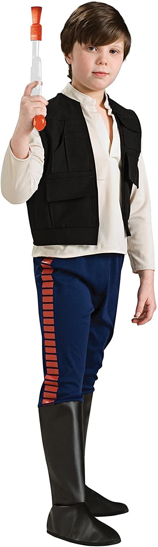 Rubie's Star Wars Classic Child's Deluxe Han Solo Costume, Small