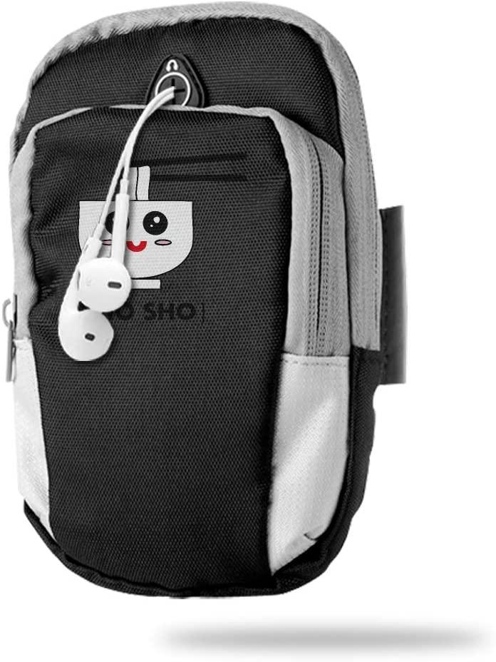 Sports Arm Bag Free Gym Phone Armbands Cell Phone Arm Holder Pho Sho Pouch Case with Earphone Hole for Running for Men Mini Shoulder Bag Travel Women Kids Handbag