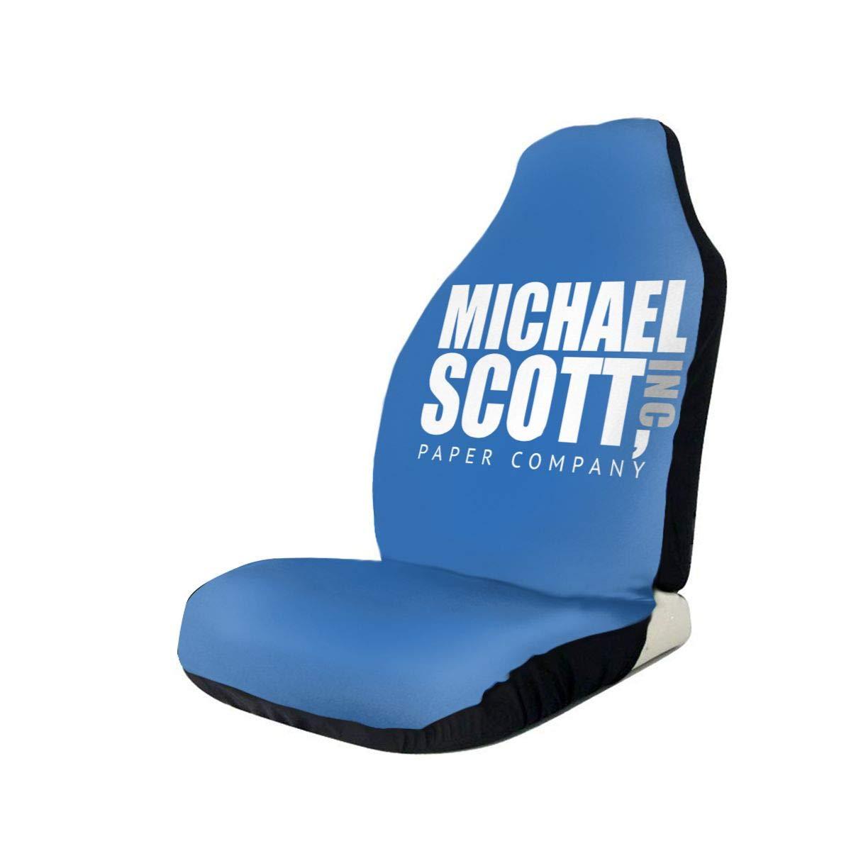 Michael Scott Paper Company Car Seat Covers Car Seat Protector Covers ,Fit Most Cars, Sedan, SUV,Van