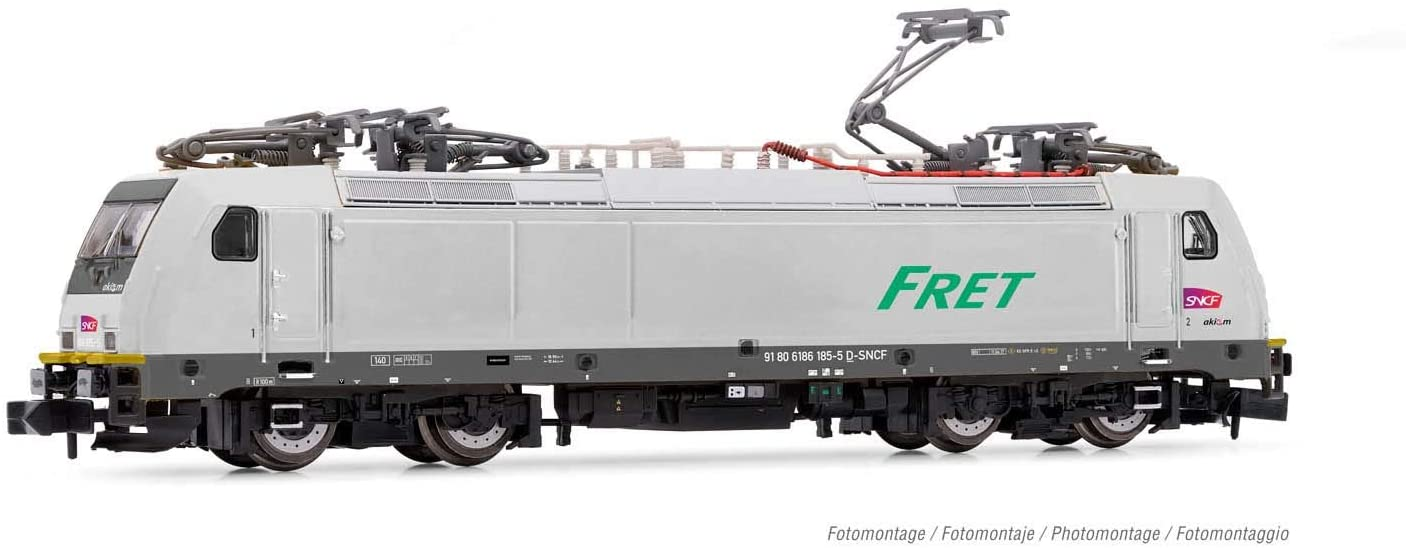 ARNOLD HN2497D SNCF, Class 186 Electric Multi-System Locomotive, Period VI, with DCC Decoder