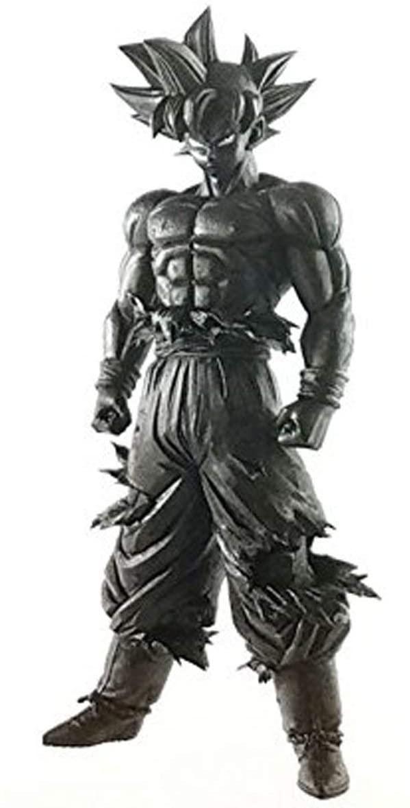 Banpresto DRAGON Ball Z Grandista Resolution of Soldiers Ultra Instinct Son Goku Action Figure Black Color Ver.