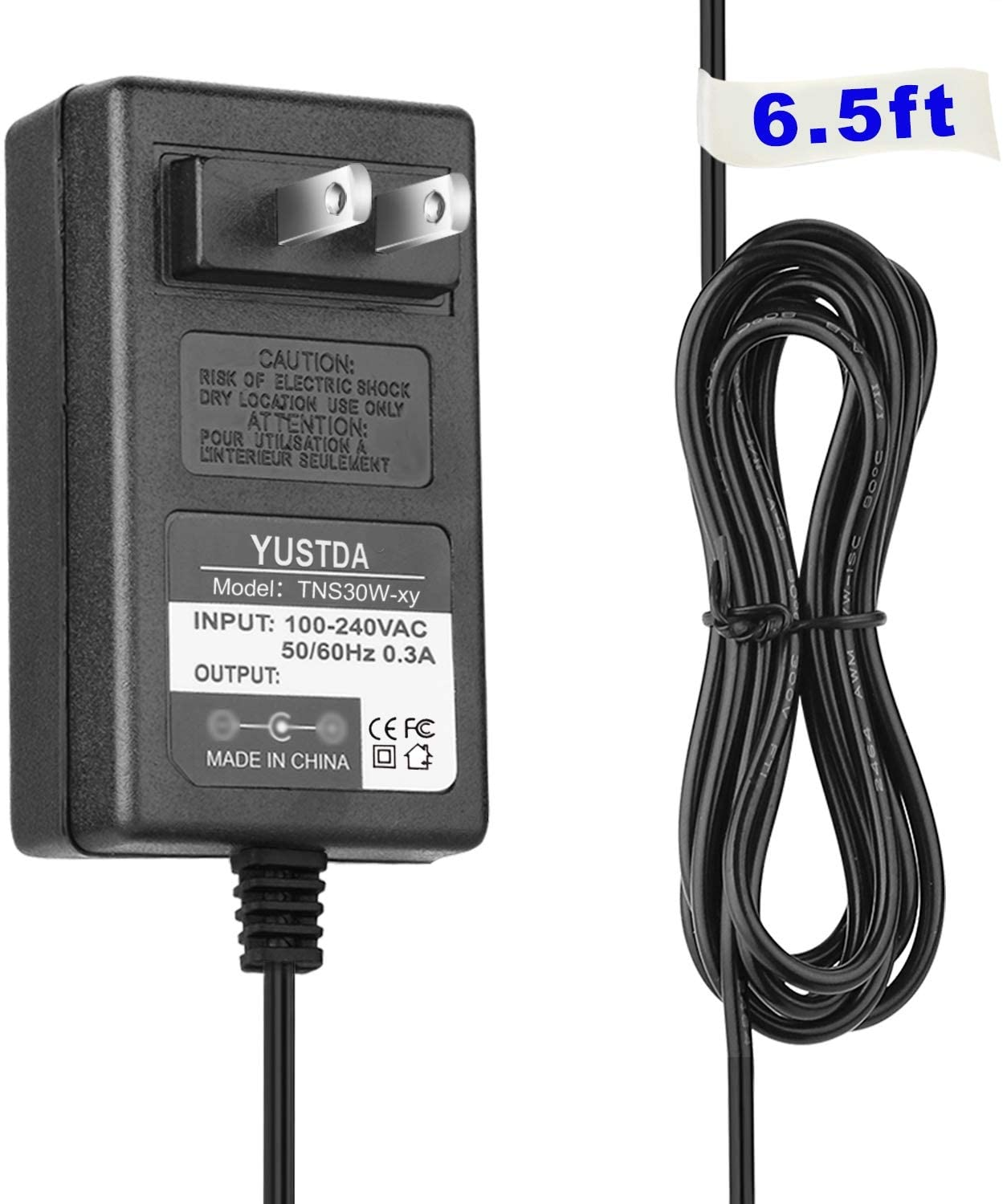 AC/DC Adapter for Optimus MD-1200 MD1200 Cat. No. 42-4041 MD-1600 MD1600 Cat. No. 42-4043 MD-1210 Cat. No. 42-4045 420-4045 MD1210 RadioShack Radio Shack Electronic Keyboard Charger