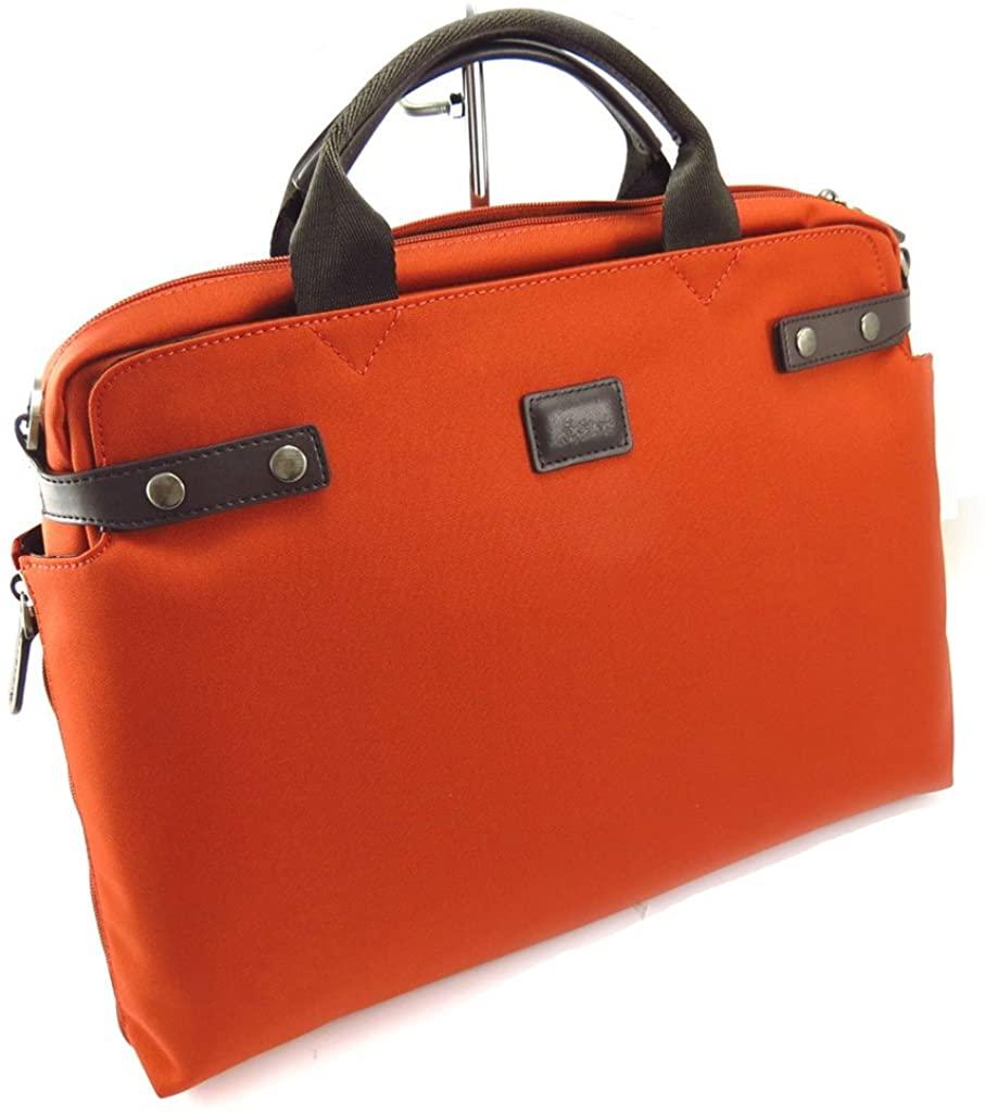 Briefcase 'Lafayette' brown orange (computer).