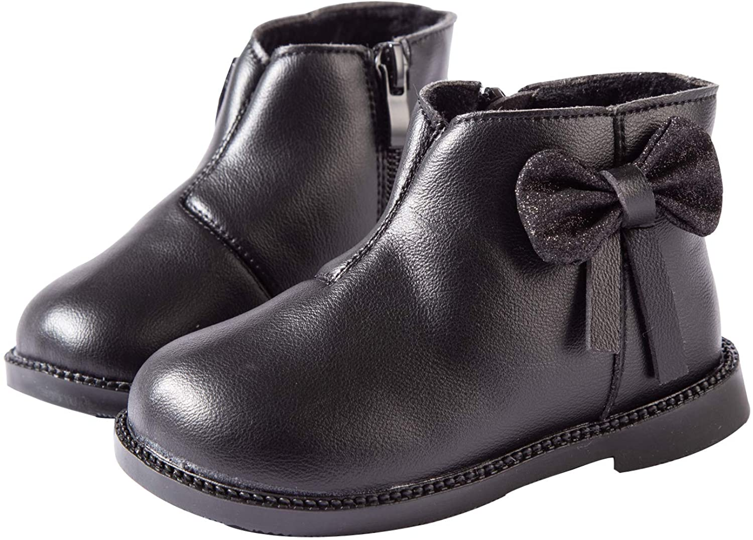 YWPENGCAI Baby Toddler Girls Leather Boots