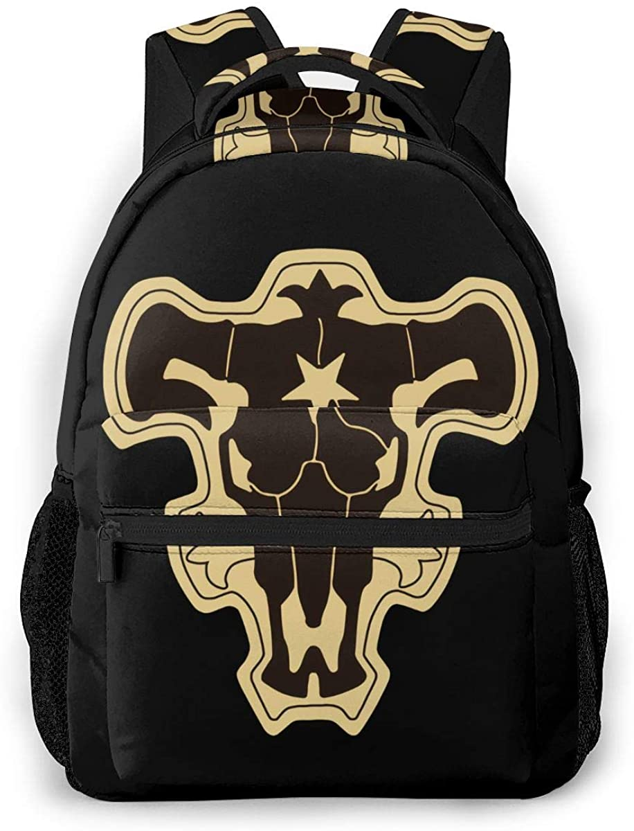 Black Clover Logo Diaper Bag Multi-Function Waterproof Travel Backpack Nappy Bags for Baby Care Mummy Backpack