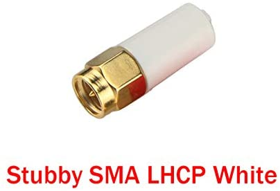 Parts & Accessories EMAX Nano 5.8G Antenna RHCP/LHCP Stubby SMA 3dBi FPV Antenna for FPV Racing Drone - (Color: LHCP SMA White)
