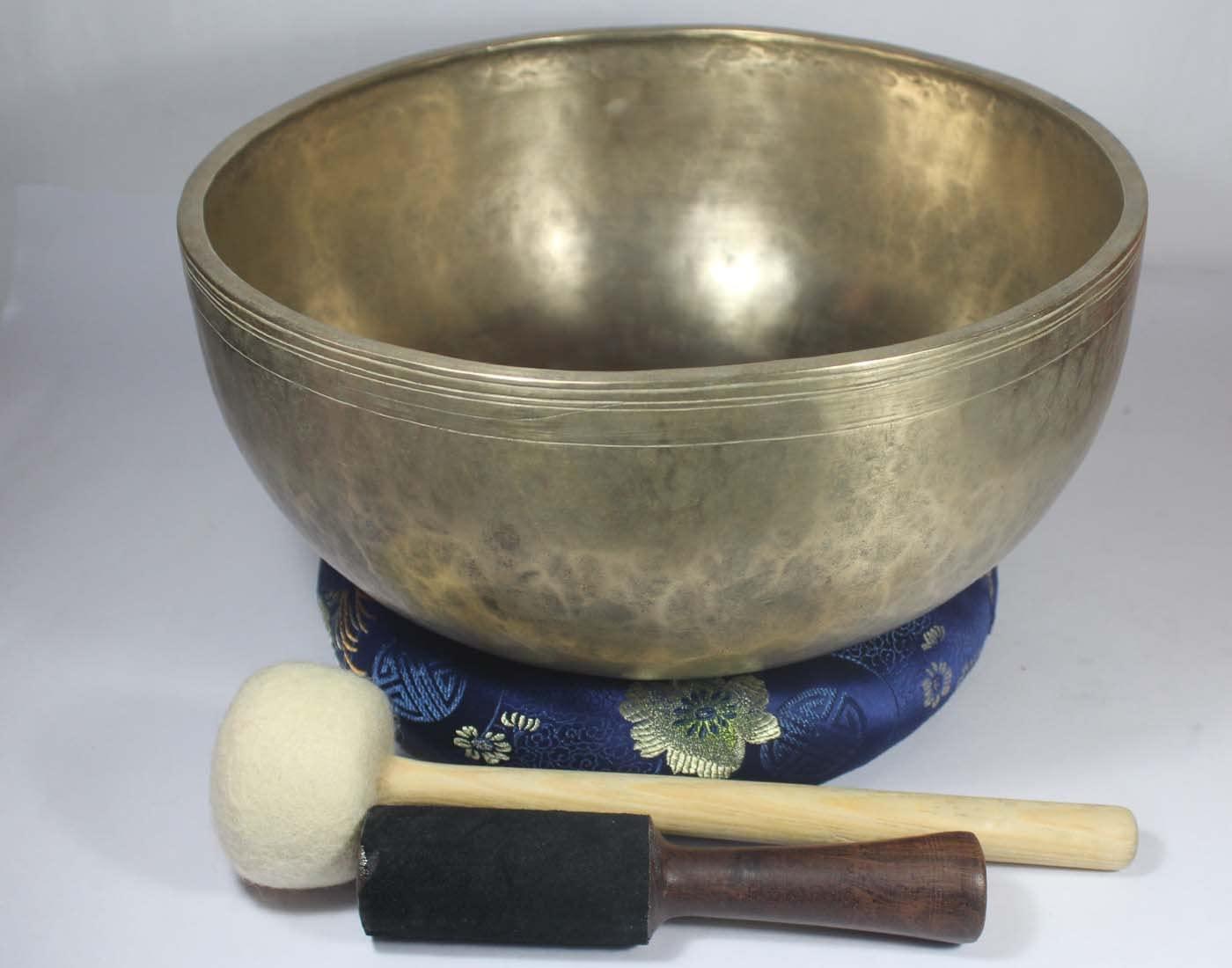12 Inch Antique Singing Bowl